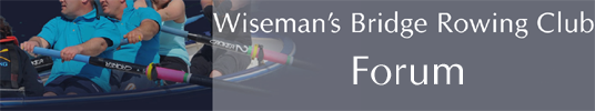 YaBB - Welcome to Wiseman's Bridge Rowing Club's Forum